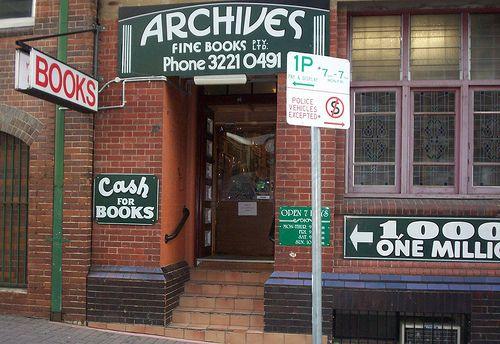 Archives Fine Books ~ Brisbane City, Queensland, Australia