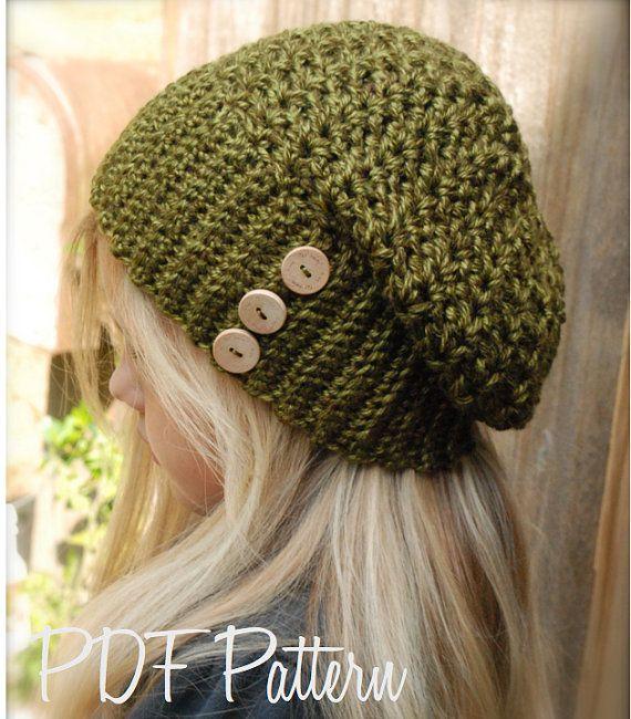 Crochet PATTERNThe Melody Slouchy 12/18 months от Thevelvetacorn