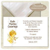 Invitación Primera Comunión - C06053I+S