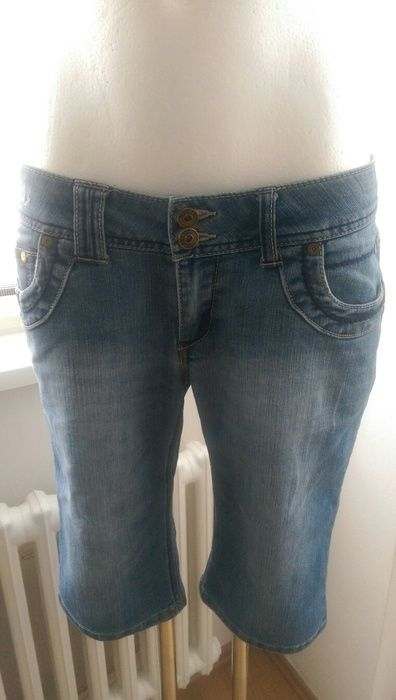Jeans lange Shorts 38