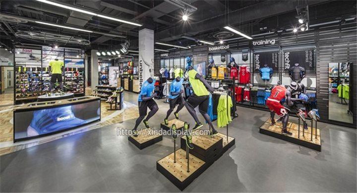 Tailor Made Retail Sports Shop Design