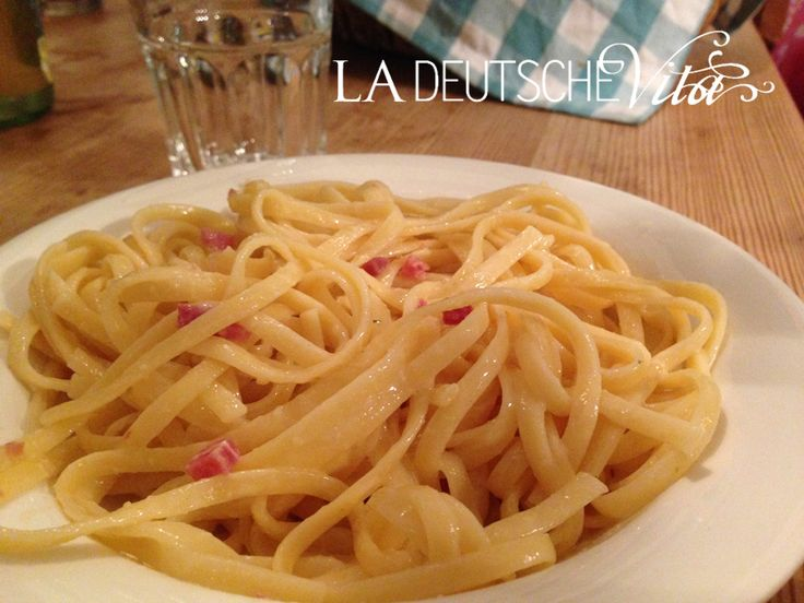 Bavette alla carbonara als #Sattmacher | #WeightWatchers