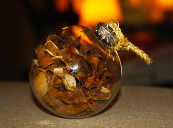 Vanilla Potpourri Christmas Ornament XMas Ornament by Teakberry