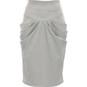 <3 Cowl Pocket Pencil Skirt [tutorial]