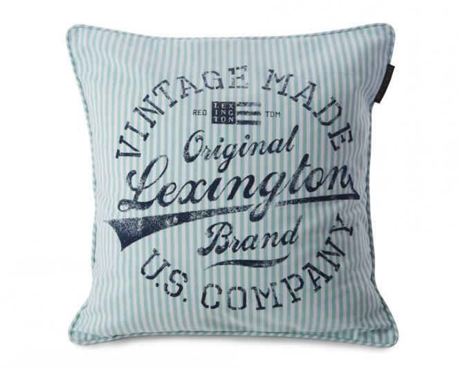 lexington kissenh lle oxford striped 50 x 50 cm gr n lexington kissen pinterest oxfords. Black Bedroom Furniture Sets. Home Design Ideas