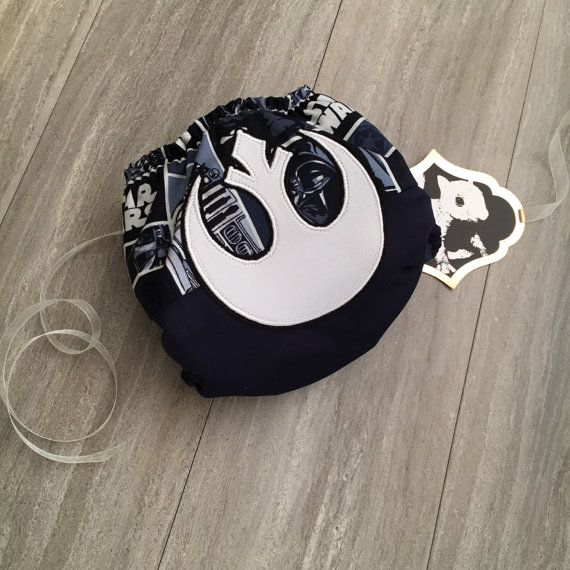 Star Wars Rebel Alliance Jedi Cloth Diaper Cover or Pocket