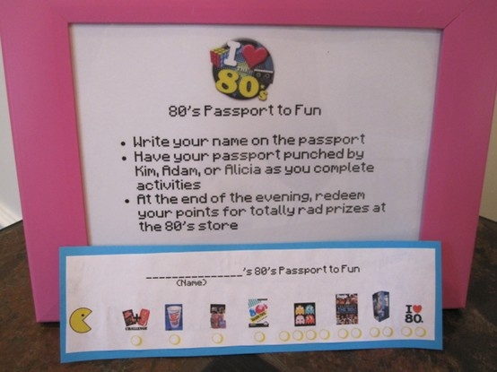 80 S Party Pport Themed Parties Pinterest 80s Theme And