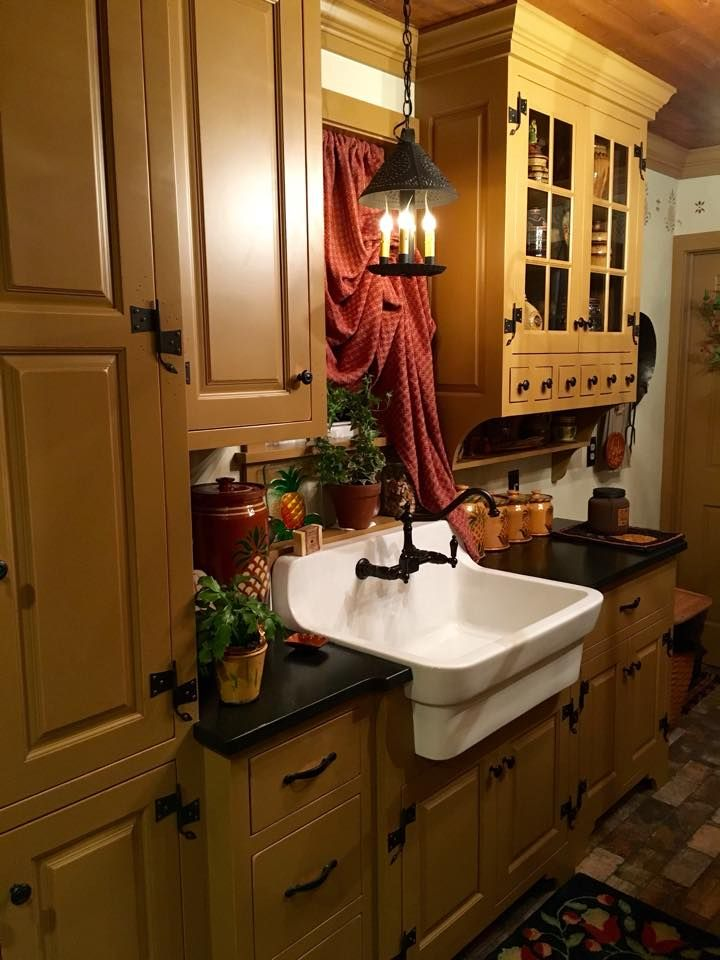 17 Best Images About Primitive Kitchen On Pinterest
