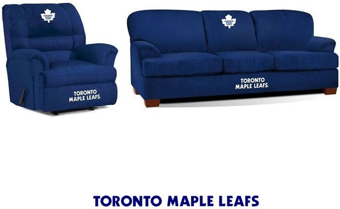 Use this Exclusive coupon code: PINFIVE to receive an additional 5% off the Toronto Maple Leafs Microfiber Furniture Set at SportsFansPlus.com