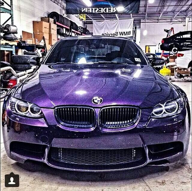 My Bucket List ~ Own a BMW ~ this purple one will do fine!