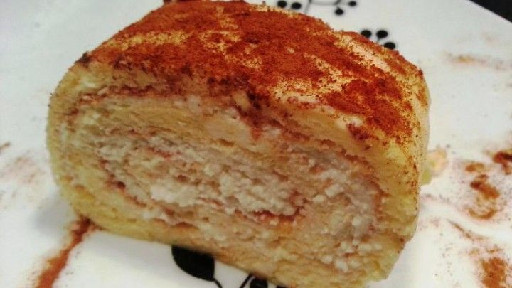 Vanilla Roll by Samala Enjoy this fat free and sugar-free treat! Feels like a cheat meal, but it really isn't!