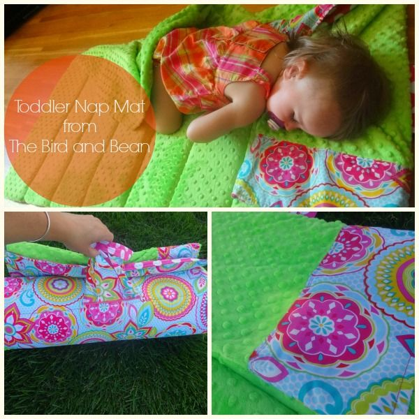 toddler mat nap from the bird and bean etsy shop perfect for vacations - Nap Mats