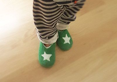 wooppers - Felt Wool Slippers for toddlers
