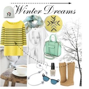 """""""Winter Dreams"""" by annawirejewelry on Polyvore"""