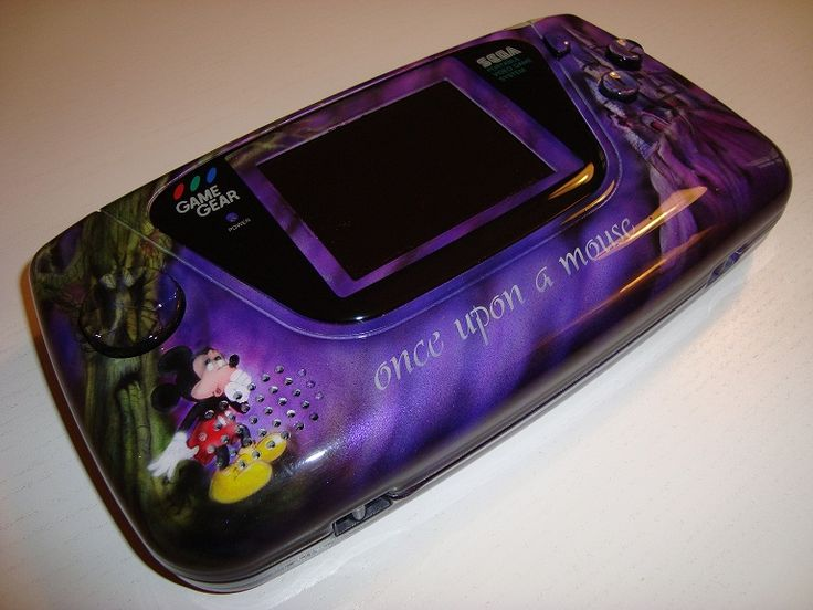 Custom Game Gear Custom Mickey Castle of Illusion
