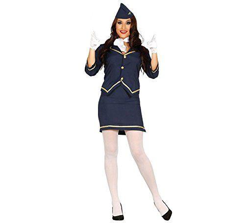 Kostüm Stewardess für Frauen #Fasching #Kostüm