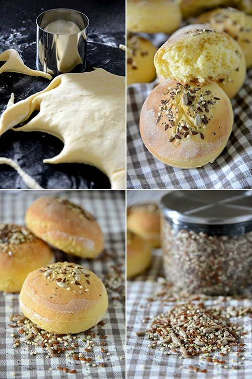 Petits pains maïs