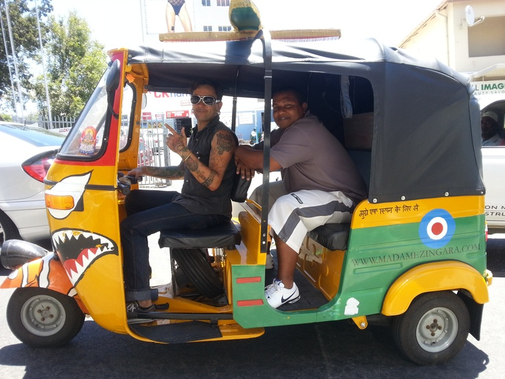 Nemo is one of the many helicopters that commute all the Madame Zingara staff in and around Cape Town.