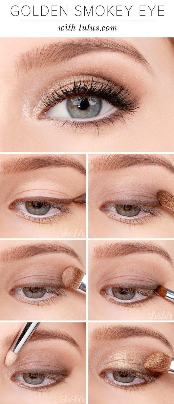 smokey eye neutral colors smokey eye makeup step by step