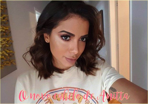 O novo corte de cabelo da Anitta - Fashionismo