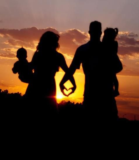 cute!: Pictures Ideas, Photos Ideas, Hold Hands, Families Pictures, Silhouette, Future Families, Families Photos, Families Pics, Families Portraits