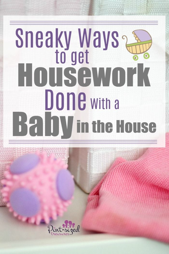These 14 PLUS Sneaky Tips to help moms get housework done with a baby in the house will help you enjoy the baby days AND a clean house! We're sharing mom-to- mom tips that ACTUALLY work! #momhacks #cleaningtips #newbaby #newbornbabies #mommyblog #parentinghelp #parentinghacks #springcleaning #quicktips #PanasonicBaby #sponsored