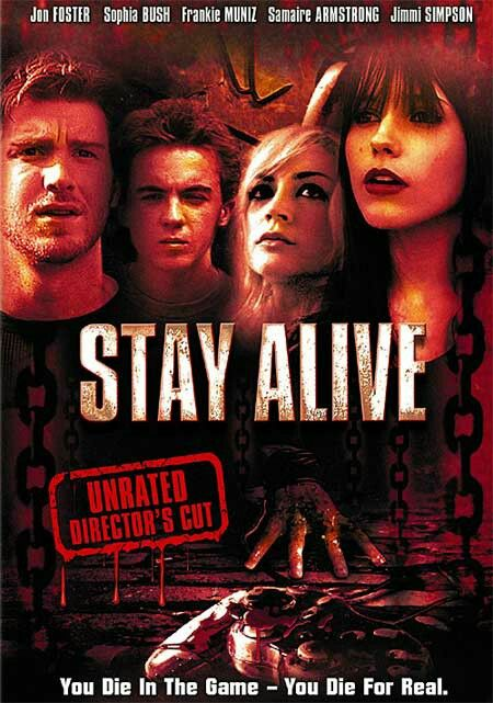 Stay Alive : A Video Game That Comes To Life. You Thought That You Were Always The One Killing Off The Monsters From The Video Game, But What Happens When The Monsters Starts To Kill You Off.
