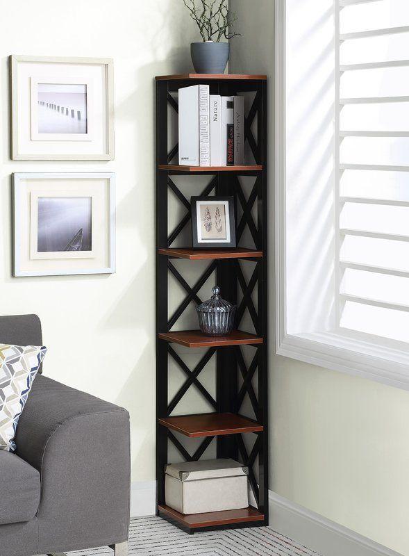 Stoneford Corner Bookcase Corner Decor Corner Furniture Corner Shelf Design