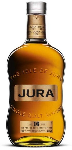 Isle of Jura 16 Year Old Scotch Whiskey