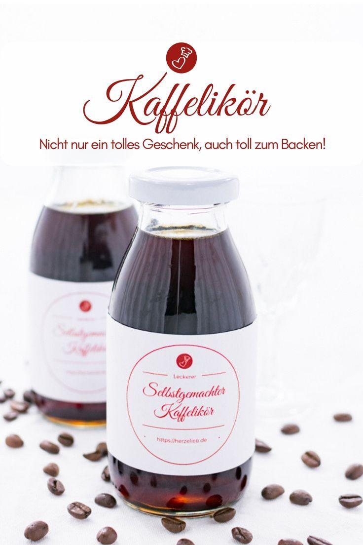 Likör Rezepte, Geschenke aus der Küche: Rezept für einen leckeren Kaffeelikö… – ALL ABOUT FOOD – Rezeptideen deutscher Blogger*
