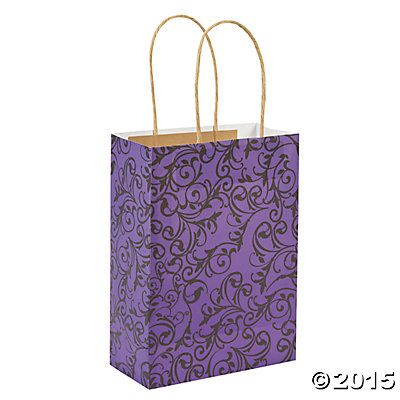 Purple & Black Kraft Bags  Perfect for my Younique Vendor Events!  www.youniqueproducts.com / lynnlilly84