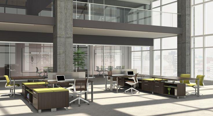 Mobiliario para oficinas Allsteel de HNI