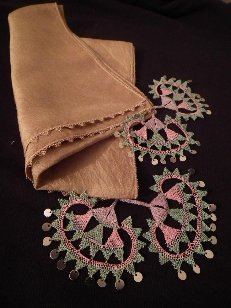 Ottoman embroidery & Osmanlı & Geleneksel türk el sanatları & İğne Oyası