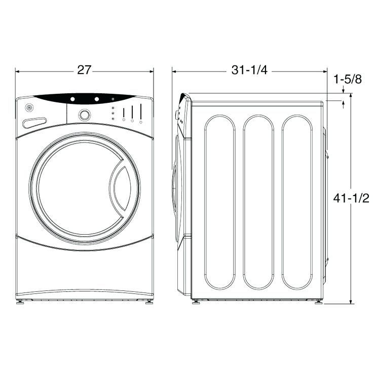 Standard Washer And Dryer Sizes Standard Dimension Of Washer And Dryer Google Search Standard Washer Dryer Combo Dimensions Standard Washer And Dryer Dimensions Front Loading