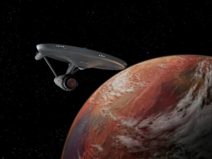 USS Enterprise (NCC-1701) Star Trek... El USS Enterprise NCC-1701 es una nave ficticia del universo de Star Trek. Es un crucero de batalla Clase Constitución de la Flota Estelar de la Federación Unida de Planetas y una de las naves insignia de la misma. Construida en los Astilleros San Francisco (los cuales no están en la ciudad homónima, sino en orbita a la tierra) en el año 2245. El más célebre de sus capitanes fue James T. Kirk