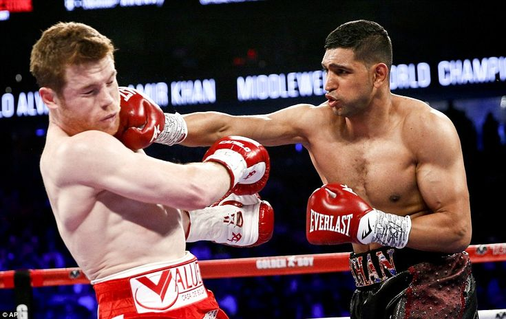Saul 'Canelo' Alvarez KO's Amir Khan in round six with savage ...