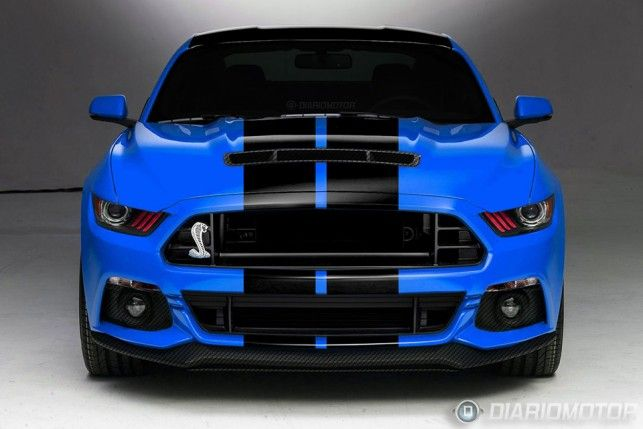 2015 Ford Mustang GT 500 | Ford Shelby Mustang GT500 2015 ganha primeira projeção