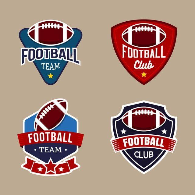 American Football Logo Design Templates Amerikanische Sportlich Hintergrund Png Und Vektor Zum Koste Football Logo Design Football Logo Logo Design Template