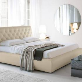 Włoskie meble do sypialni Alexander. Łóżko, sypialnia