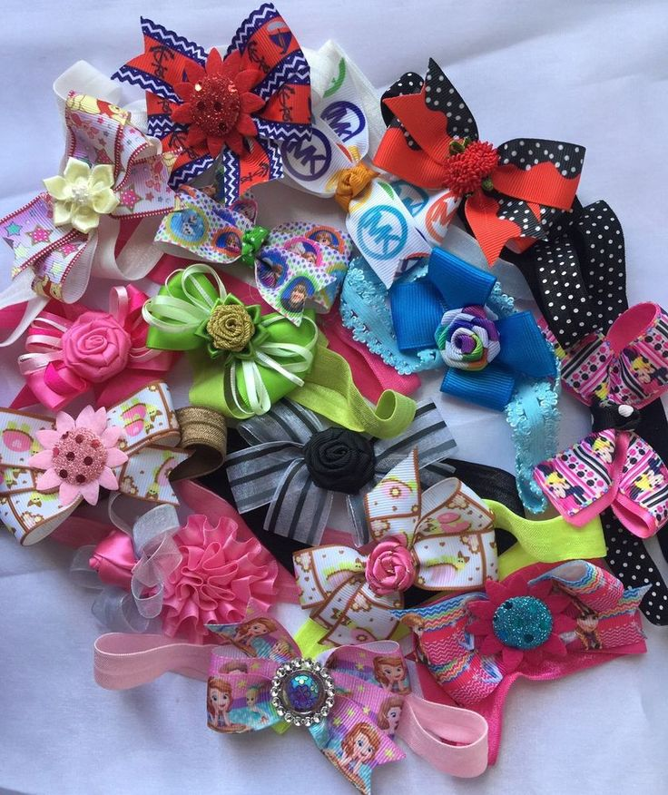 Sale Lot Of 15 Baby Headband! Cute Baby Handmade Headbands  | eBay