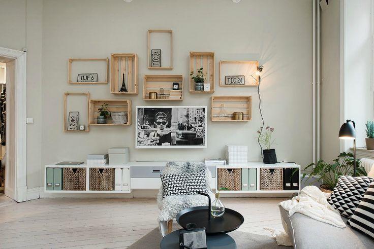 Salones Low Cost | La Bici Azul: Blog de decoración, tendencias, DIY, recetas y arte