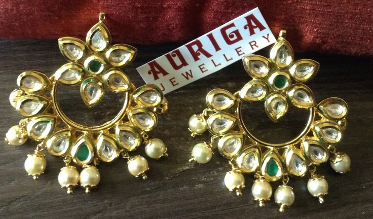 Fine Kundan earrings