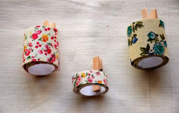 LaGallinaRosita: DIY: FABRIC TAPE - Come fare da sole il nastro adesivo di stoffa!