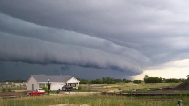No Ordinary, Garden-Variety Thunderstorm. SPC has a good explanation of derechos, and the meteorological conditions that usually set off these wild storms. Sort of like a half-baked, horse-shoe shaped mini-land-hurricane. File Photo credit: Brittney Misialek, former WGN-TV intern ~ StarTribune.com