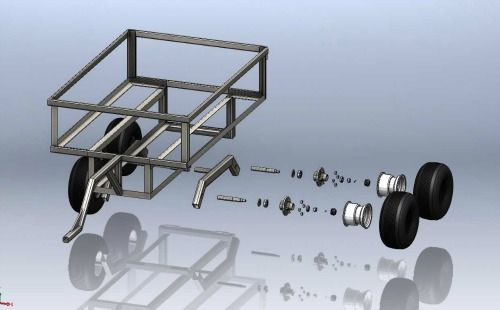 ATV Trailer - Exploded View