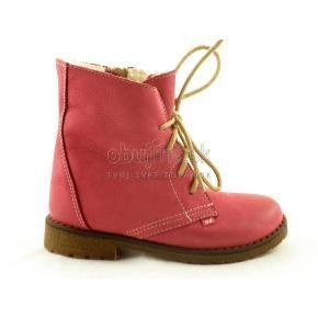 Mäkučké pohodlné teplé dievčenské topánky Emel