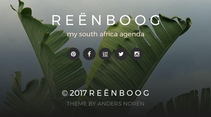 Scopri il nuovo look di Reënboog su www.reenboog.it  #tropical #sterlizia #durban #sudafrica sterlizia nicolai