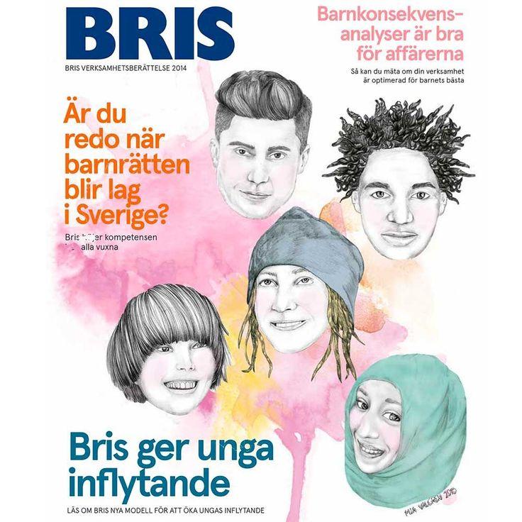 Mia Valgren Illustration för BRIS
