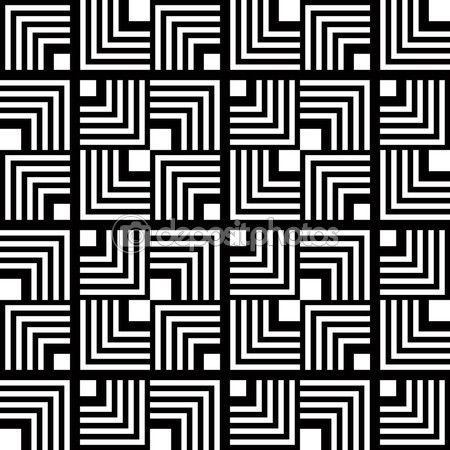 transparent motif géométrique noir et blanc, stripe vecteur simple - ...