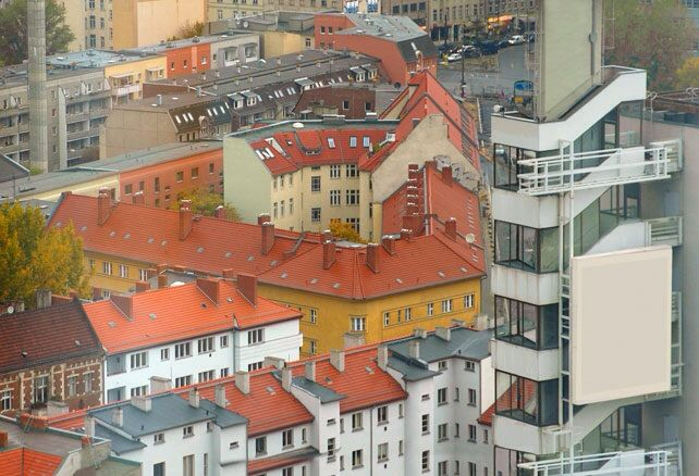 #diary #rivkahyoung #18022015 #berlin #rooftop #mitte #houses #blockofflats #city #fromabove